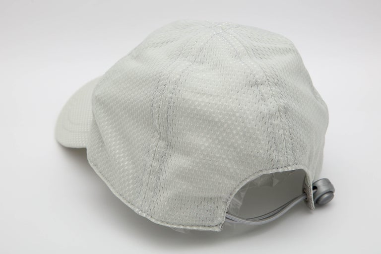 Chanel Sport Rare Gray Cap with CC Logo For Sale 1