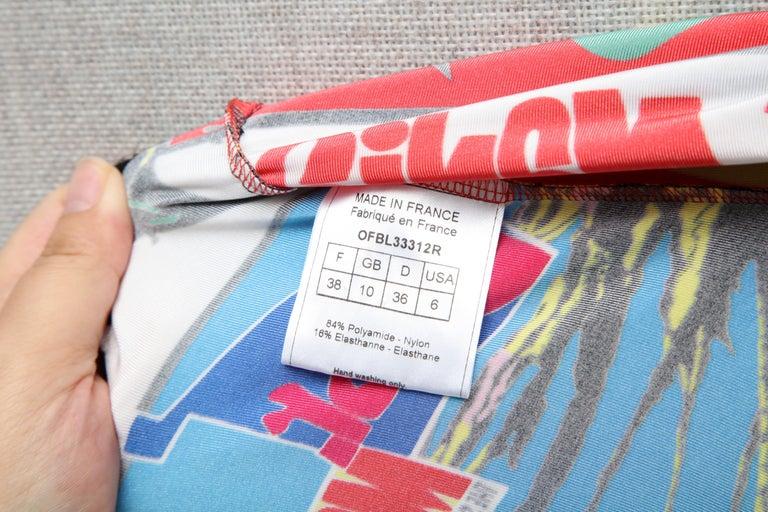 Christian Dior by John Galliano Rasta Print Tank Top T-shirt 1