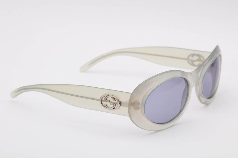 Women's or Men's Vintage Gucci Sunglasses For Sale
