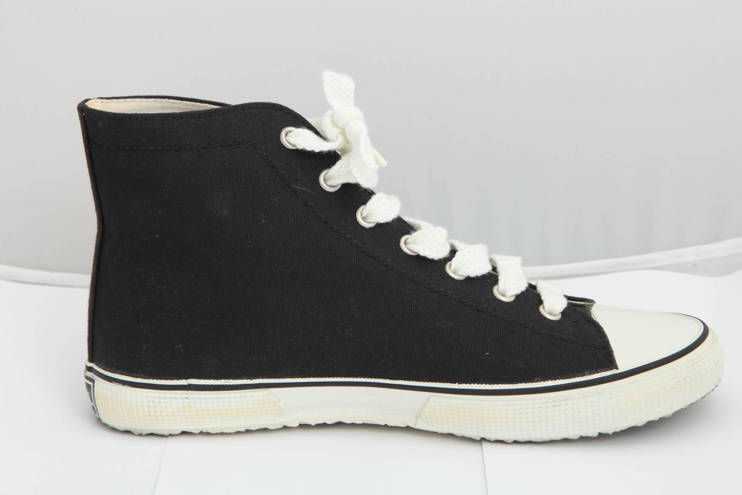 Rare Chanel Converse Style Sneakers Image 7