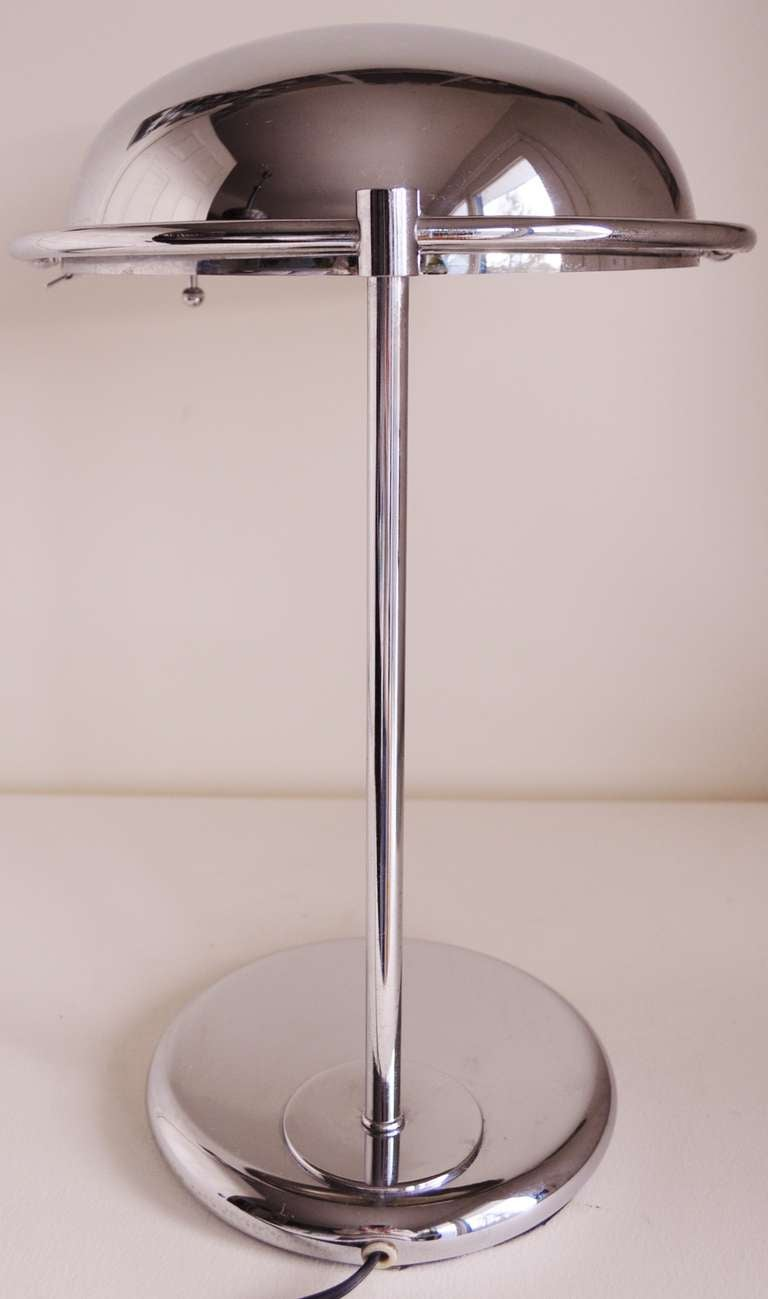 American mid century offset desk lamp with adjustable for Off set floor lamp