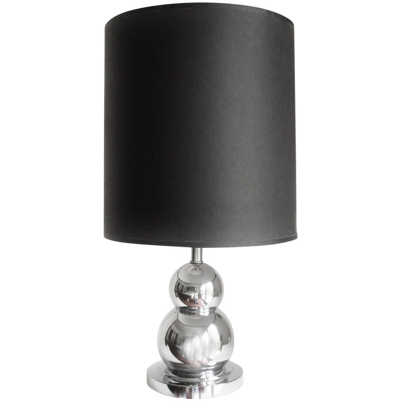 Graduatedamp; Canadian Stacked Table 60's Two Chrome Spheres Lamp srdCthQx