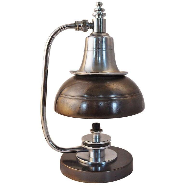 American Markel Art Deco/Machine Age Original Finish Table Lamp