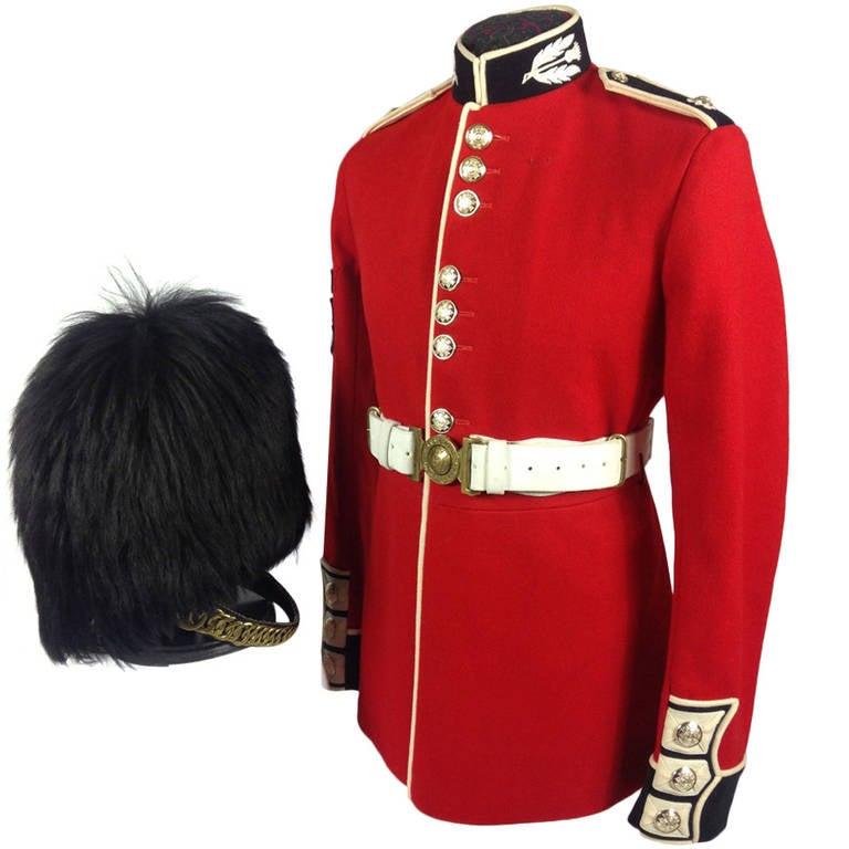 Queen Elizabeth Ii Period British Army Scots Guards