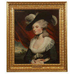 A portrait of 'Perdita' oil on canvas by Sir William Beechey R.A. (1755-1839)