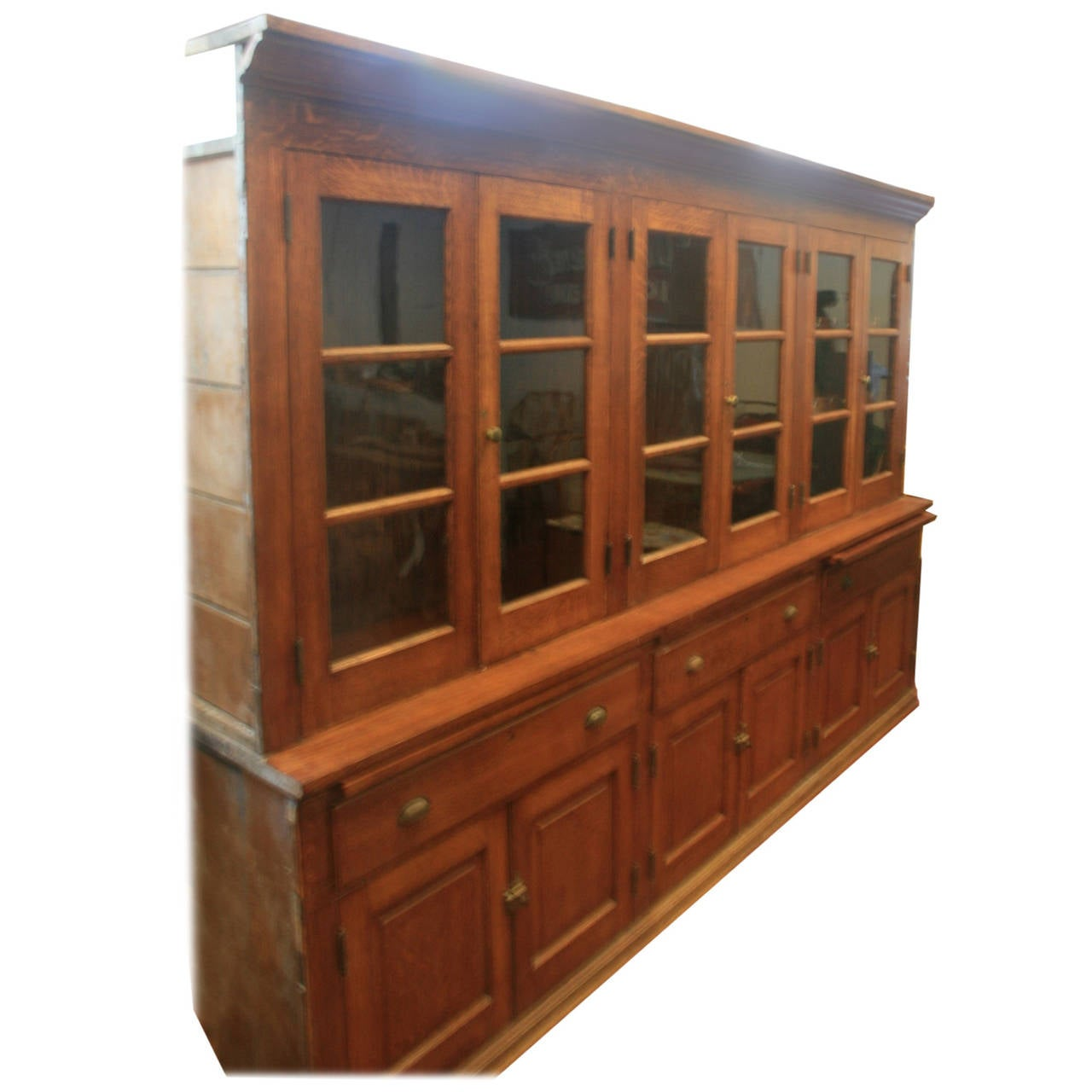 Giant 19th century butler 39 s pantry cabinet at 1stdibs for Pantry cabinet