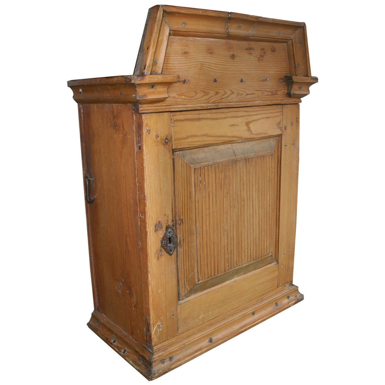 18th Century Country Wall Cabinet from Finland