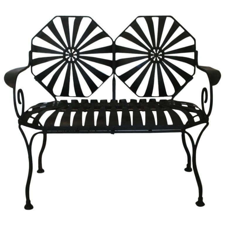 french garden springer chair set at 1stdibs