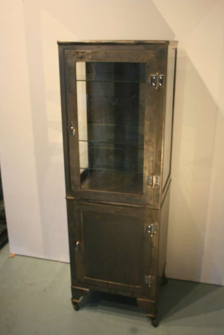 Nice Upright Medical Cabinet At 1stdibs