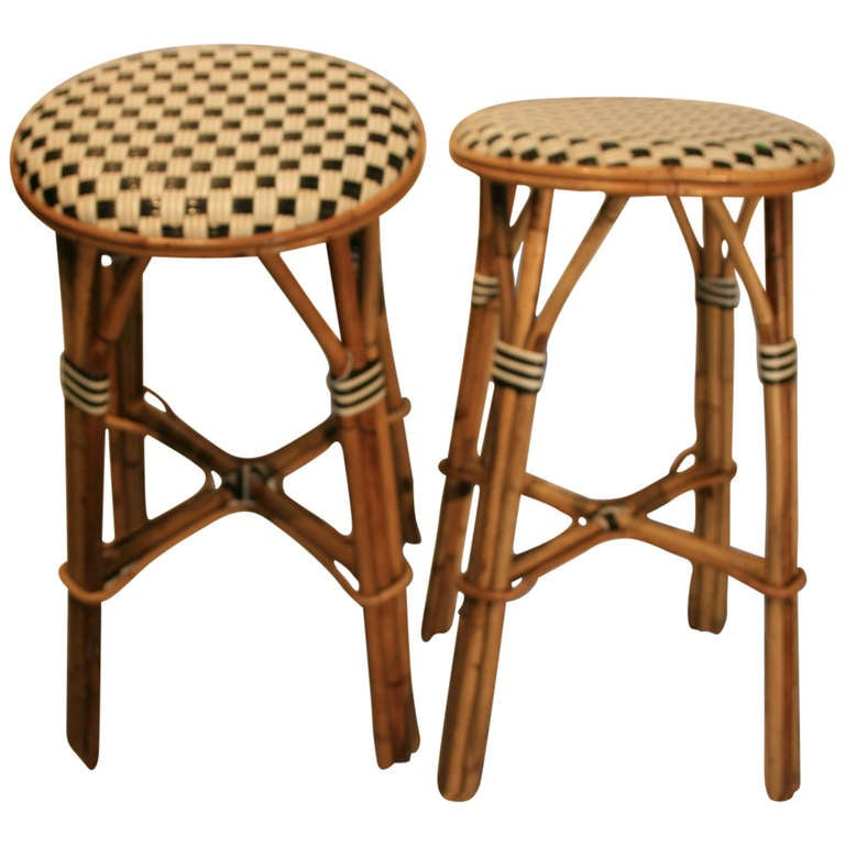 Great pair french bistro stools at 1stdibs - French bistro barstools ...