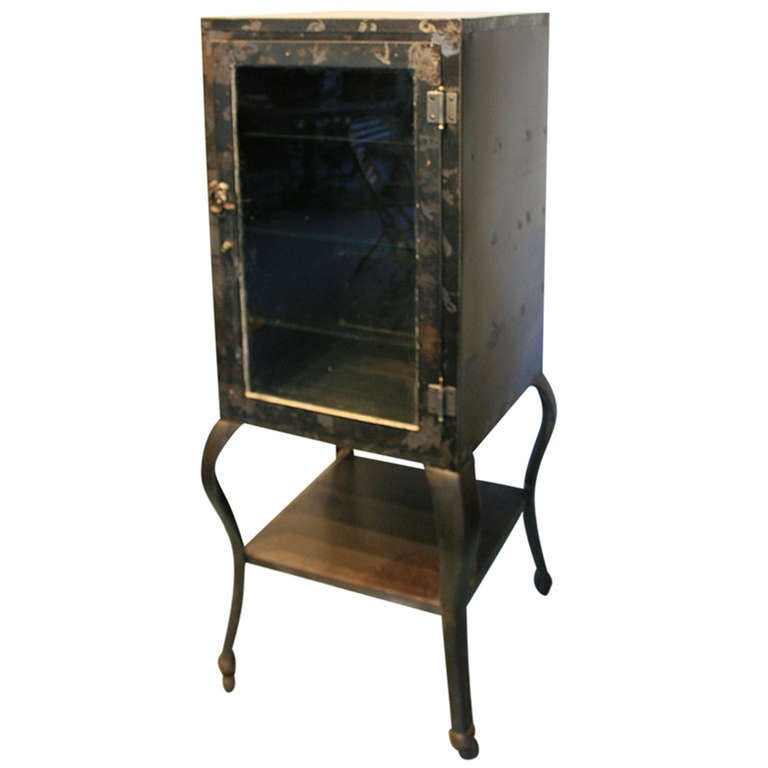 Early Doctor's or Medical Cabinet