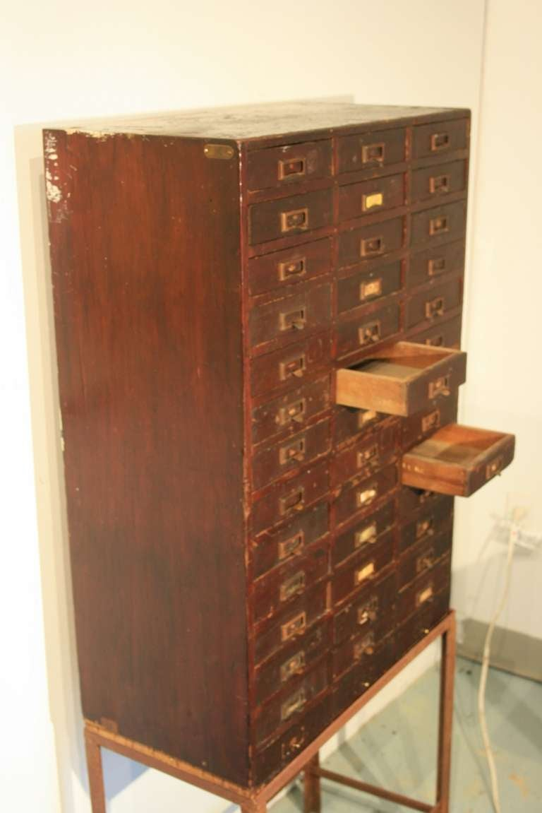 Beautiful multi drawer cabinet at 1stdibs for Furniture 30cm deep