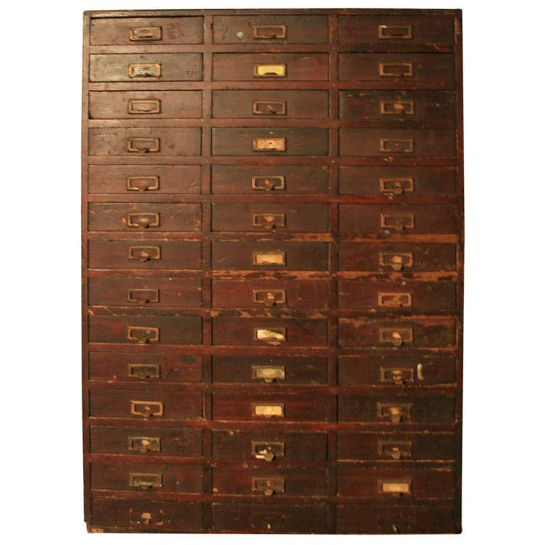 Beautiful Multi Drawer Cabinet At 1stdibs