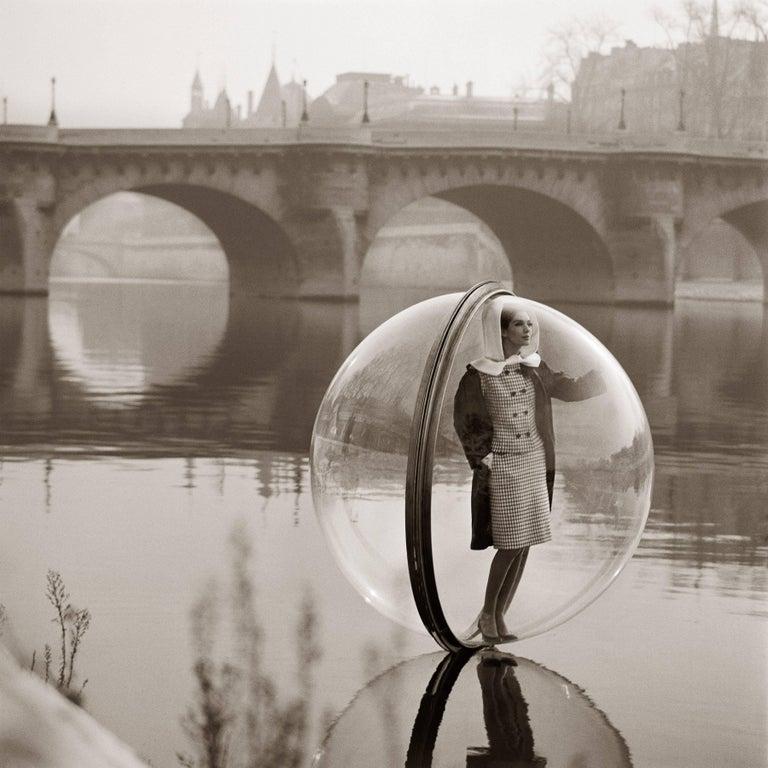 Bubble Seine, Paris - Photograph by Melvin Sokolsky