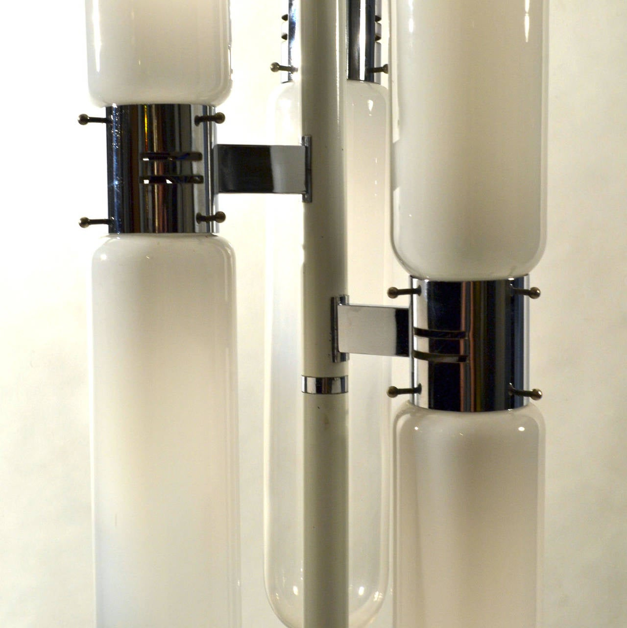 Sculptural Floor Lamp with Murano Glass by Carlo Nason for Mazzega 4