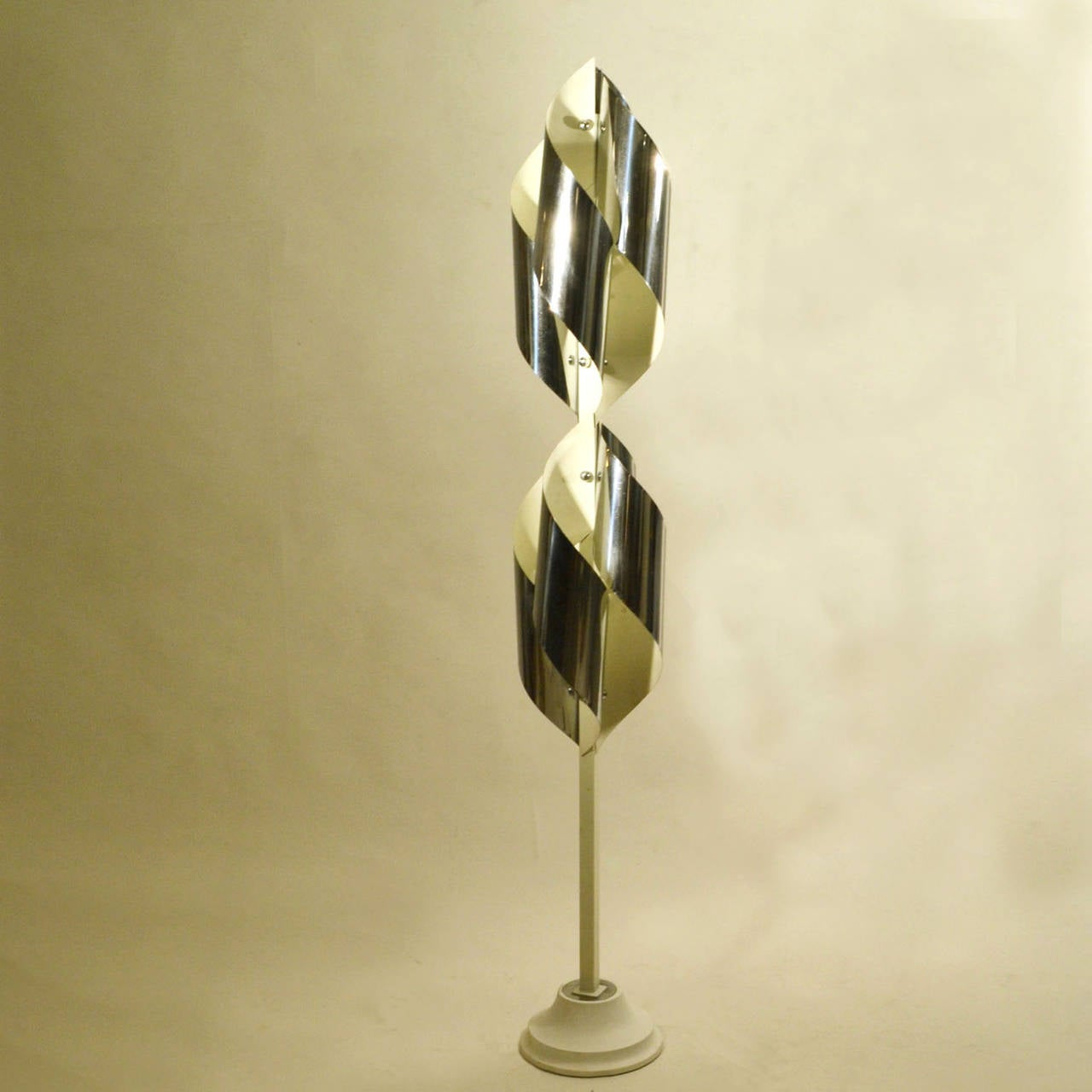 Sculptural Stillux Floor Lamp In Excellent Condition For Sale In London, GB