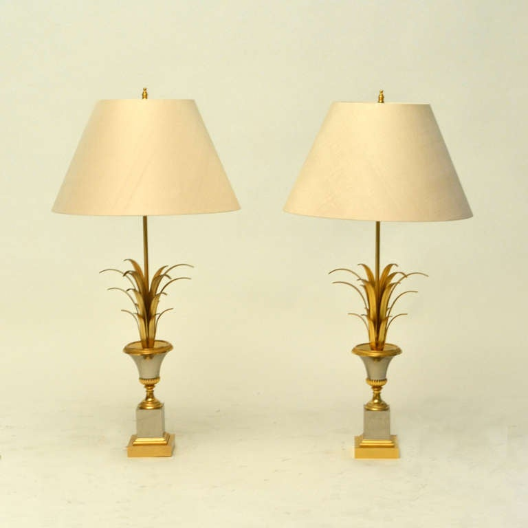 this pair offrench maison jansen table lamps is no longer available. Black Bedroom Furniture Sets. Home Design Ideas