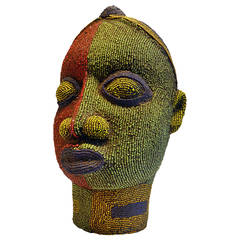 Female Beaded Sculpture