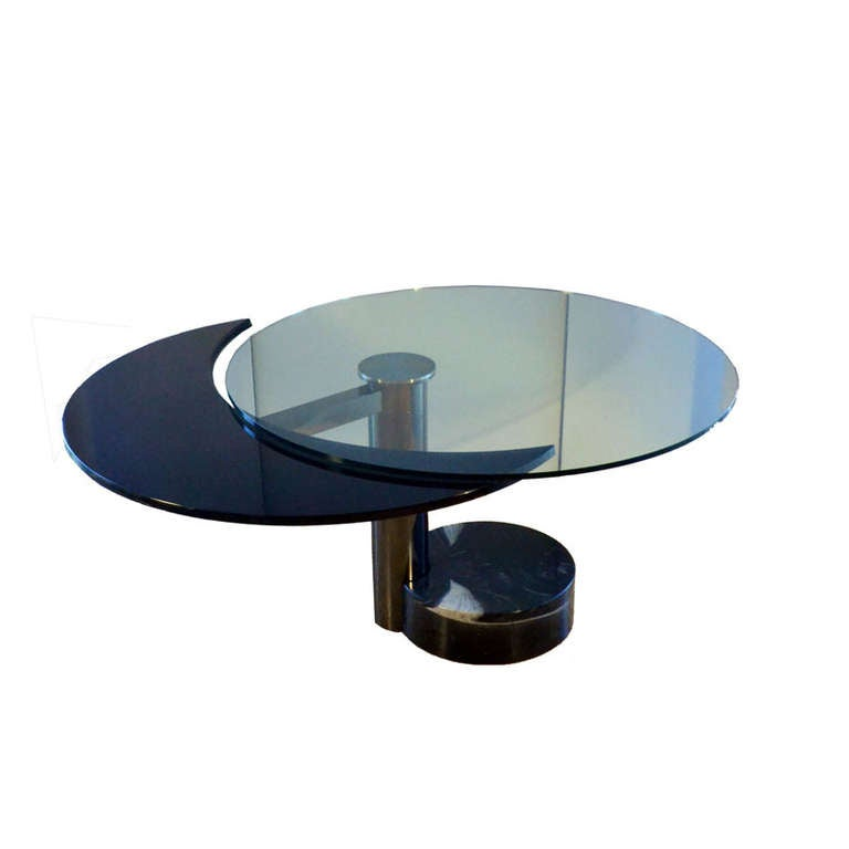 1960u0027s revolving round or oval dining table attributed to pierre cardin 2