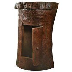 Unusual Walnut tree-trunk cabinet