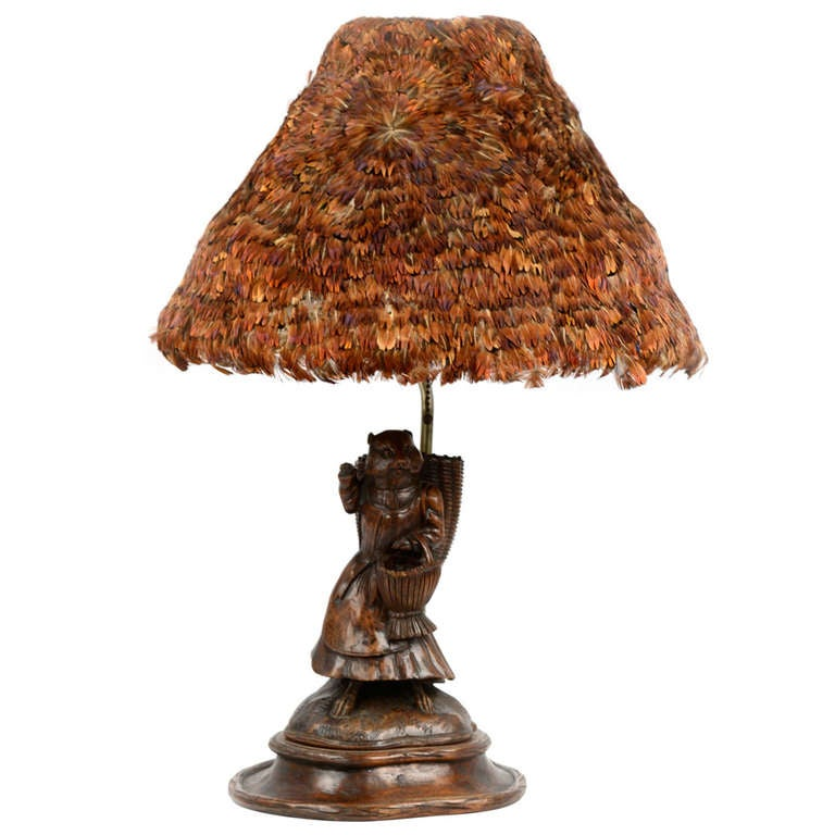 Mrs tiggy winkle beatrix potter table lamp with feather shade at mrs tiggy winkle beatrix potter table lamp with feather shade 1 sciox Image collections