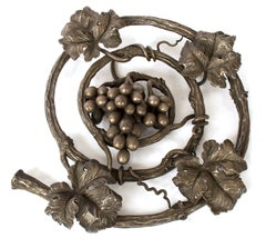 Large Wrought Iron Sculpture of a Mature Grapevine