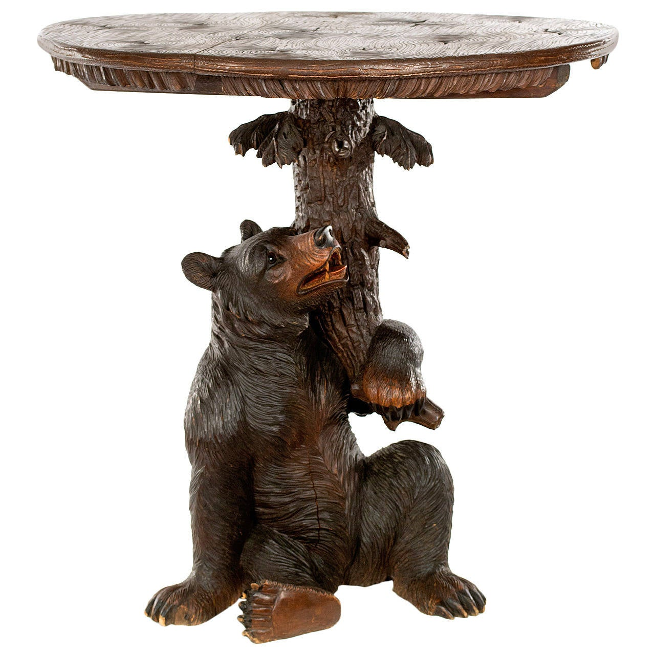 Exceptional Black Forest Centre Table