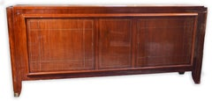 A French Art Deco buffet in Mahogany