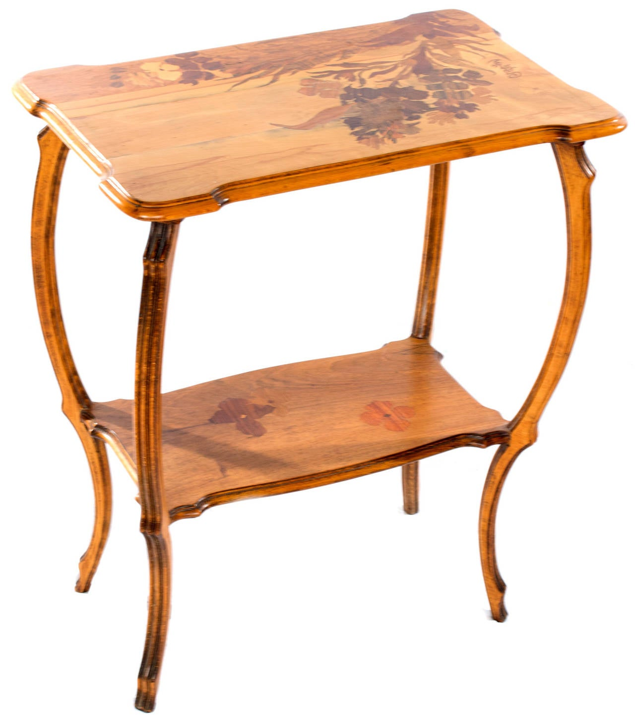Mile Gall Art Nouveau Side Table For Sale At 1stdibs