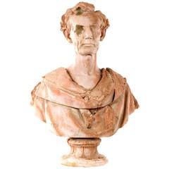 Abraham Lincoln Terra Cotta Bust