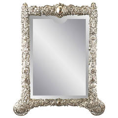 English Sterling Mirror by George Howson