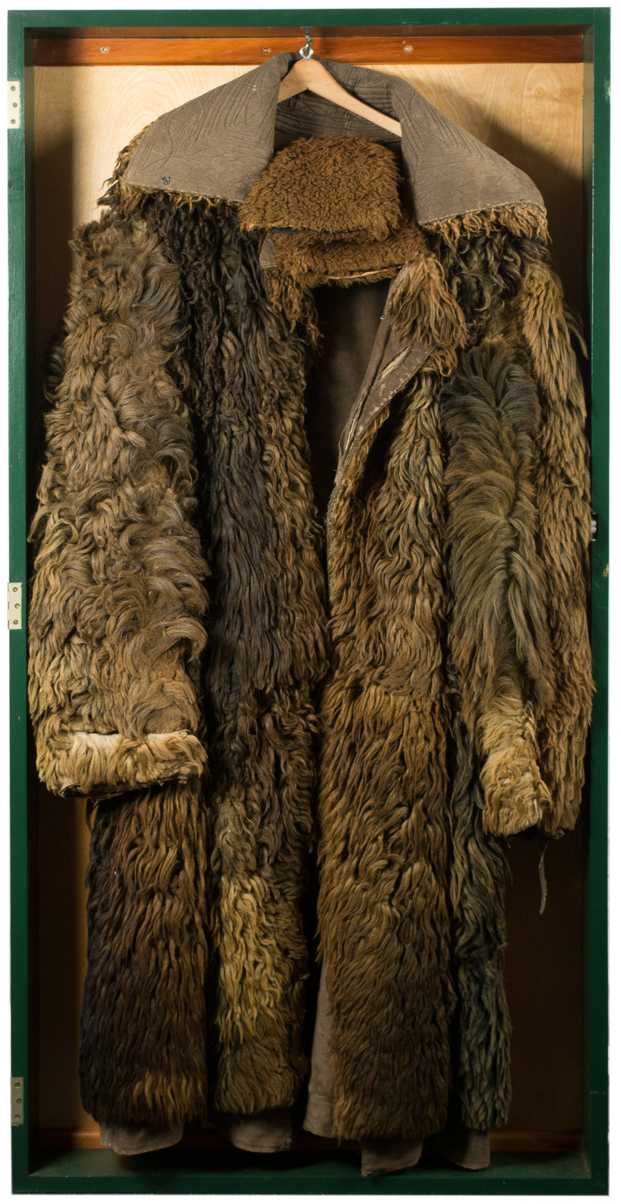 19th Century American Buffalo Coat At 1stdibs