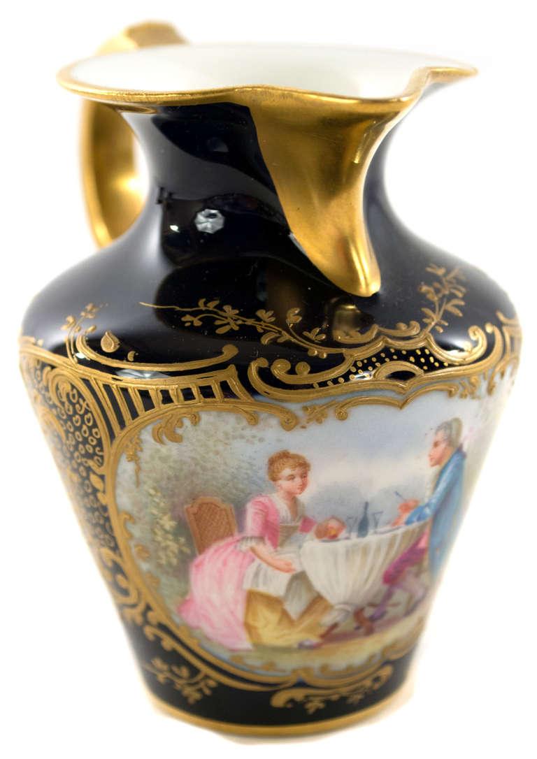 Cobalt Blue And Gold S 232 Vres Porcelain Tea Service At 1stdibs