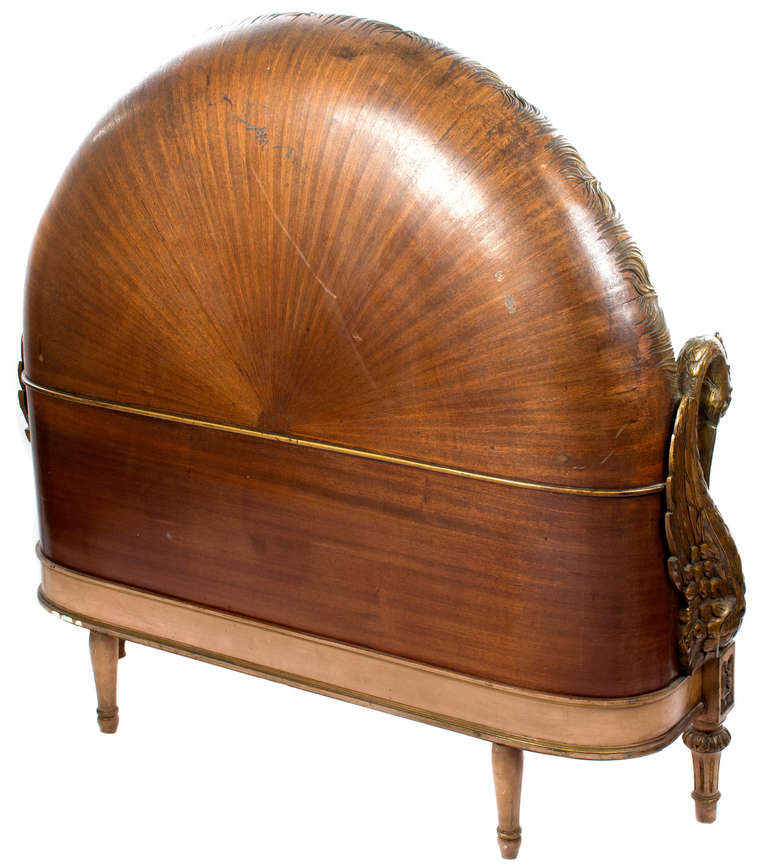 A French Art Deco Swan Bed For Sale At 1stdibs