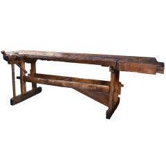 Eastern European Work Bench Table