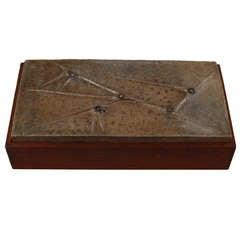 """Rare Renato Bassoli Box for """"Il Sestante"""""""