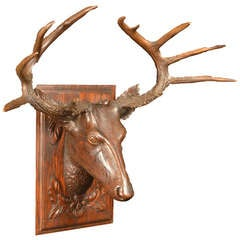Blackforest Stag Wall Plaque