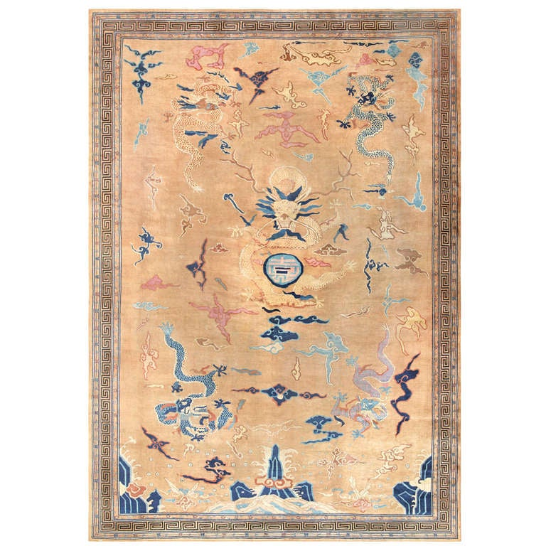 Large Antique Chinese Rug