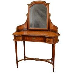 Fine Louis XVI Style Parquetry Vanity