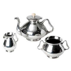Duchess of Sutherland Silver Plate Tea Service