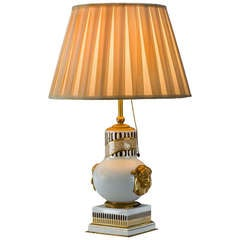 Antique French Table Lamp