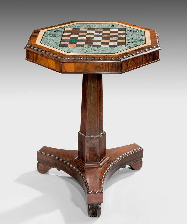 A Regency Chess Table For Sale At 1stdibs