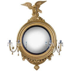 Regency Convex Mirror of large scale