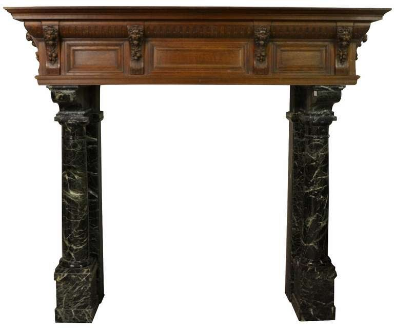 19th century neo renaissance dutch fireplace for sale at 1stdibs - Chair antieke ...