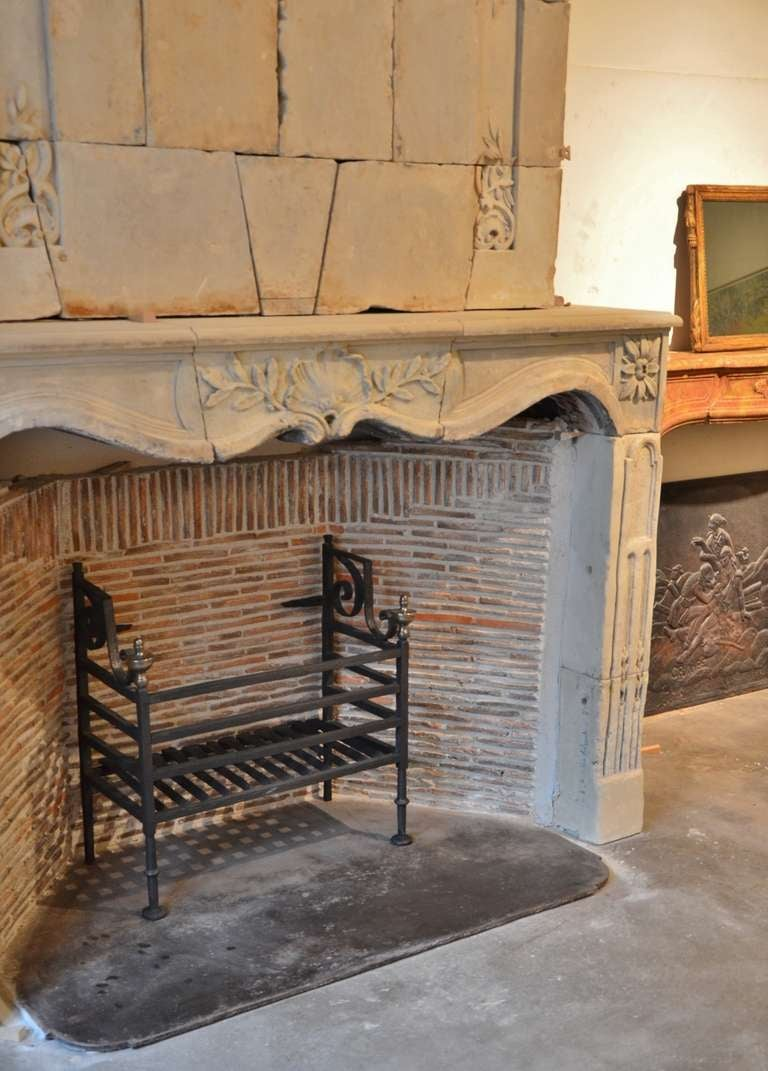 17th Century Dutch Iron Fire Grate For Sale At 1stdibs