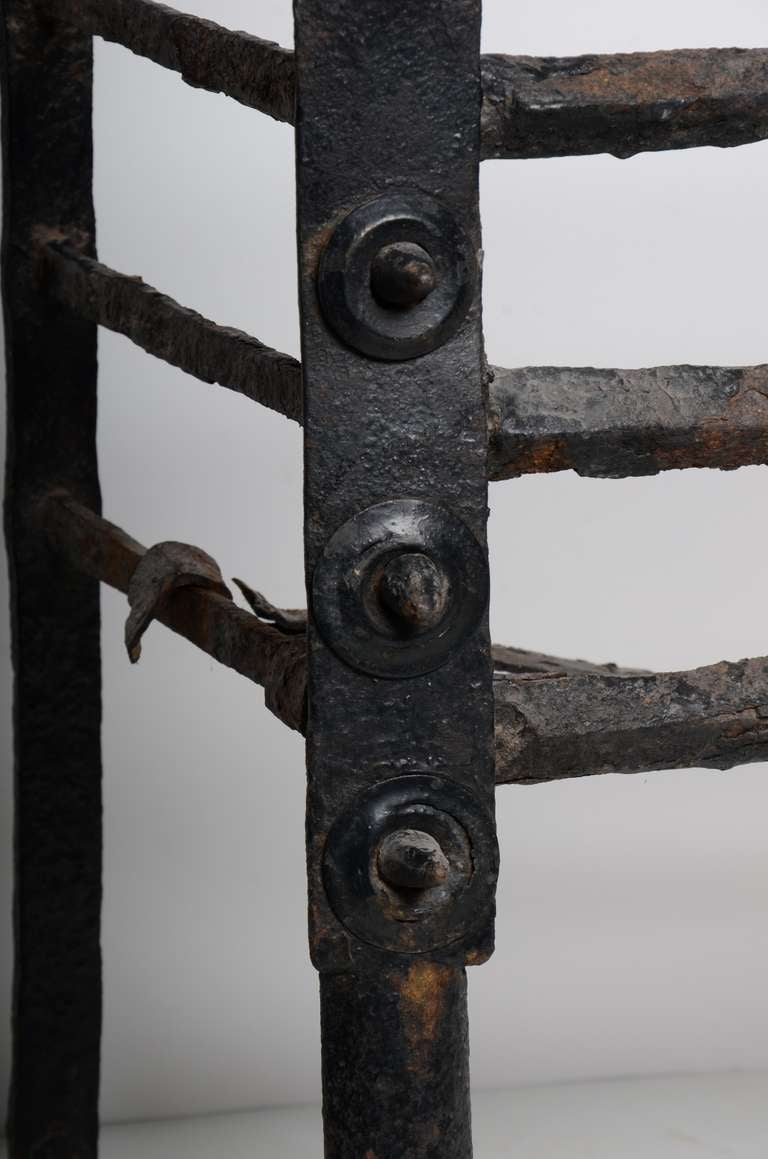 Antique Fire Grate/Bucket, 17th Century Dutch For Sale 1