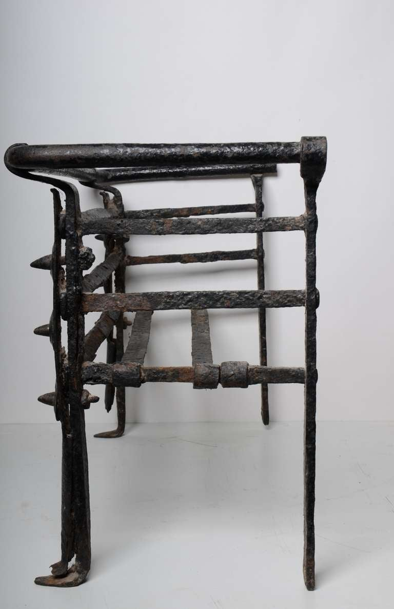 Antique Fire Grate/Bucket, 17th Century Dutch For Sale 2