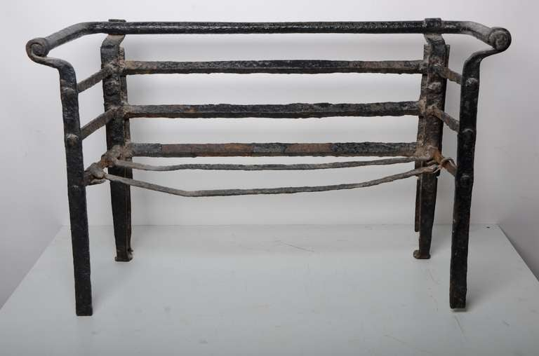 Antique Fire Grate/Bucket, 17th Century Dutch For Sale 3
