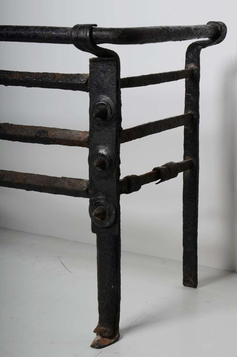 18th Century and Earlier Antique Fire Grate/Bucket, 17th Century Dutch For Sale