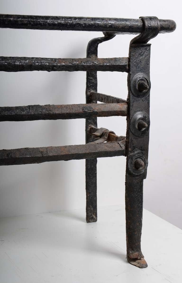 Antique Fire Grate/Bucket, 17th Century Dutch For Sale 4